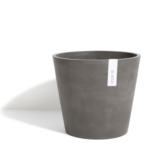 ECOPOT AMSTERDAM ROND TAUPE